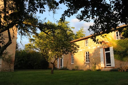 Manau, 4 stars guest house in South West France - Beaumont-de-Lomagne - Dom