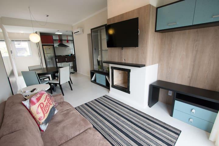 Lindo apartamento para até 4 pessoas - Onze-1 103 - Gramado