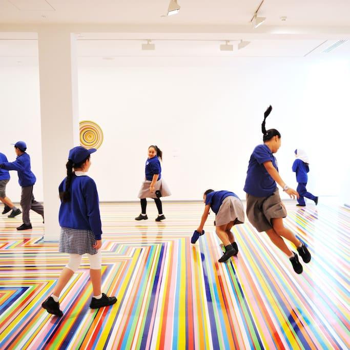 시드니현대미술관의 사진