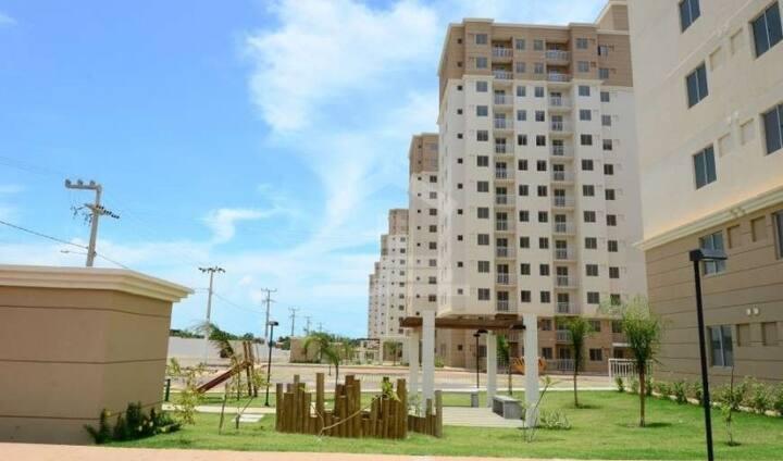 Apartamento funcional próximo à Praia do Araçagy