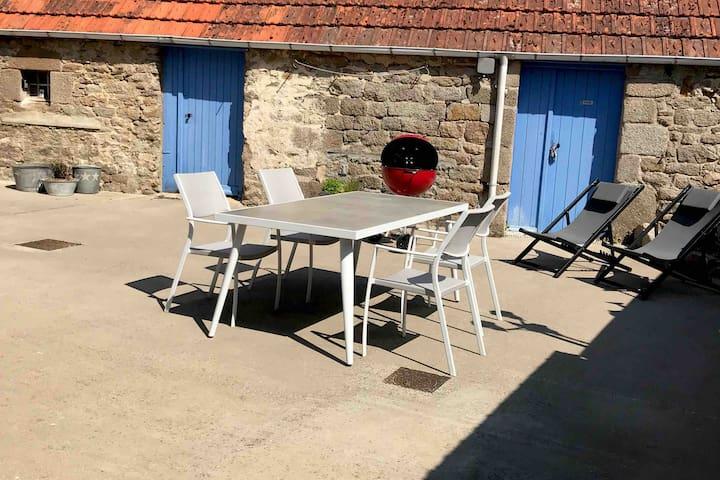Maison de charme dans le Cotentin avec Wifi