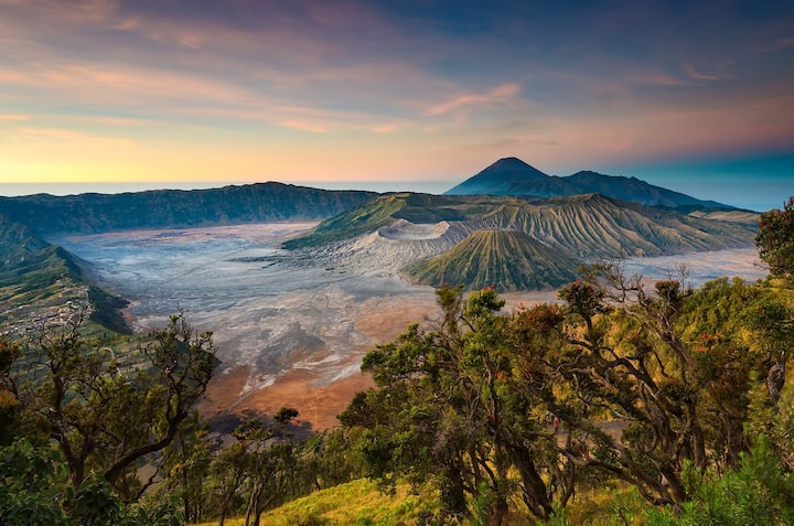 Beatiful Bromo Sunrise