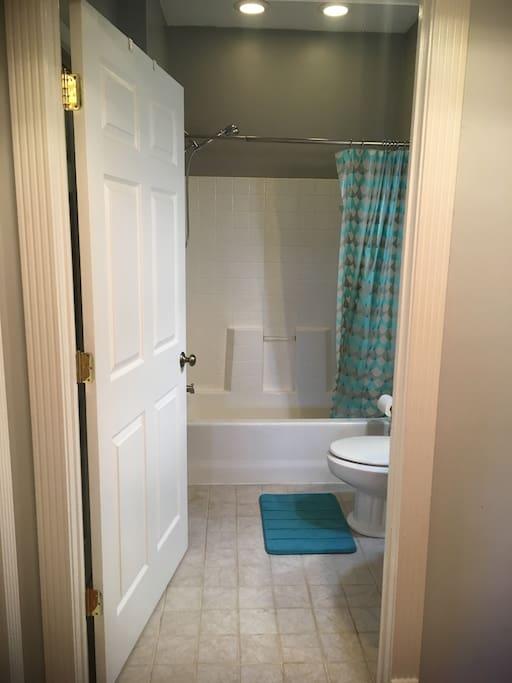 Bright and Clean Private Bath