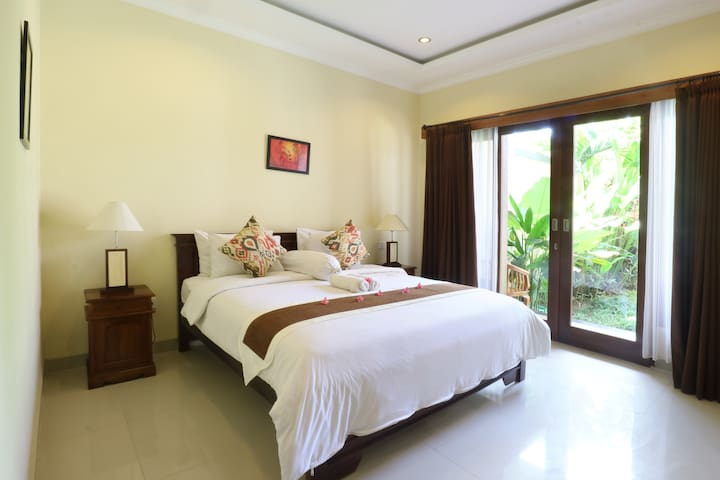 Visit Berawa Beach from Homey Deluxe room Canggu