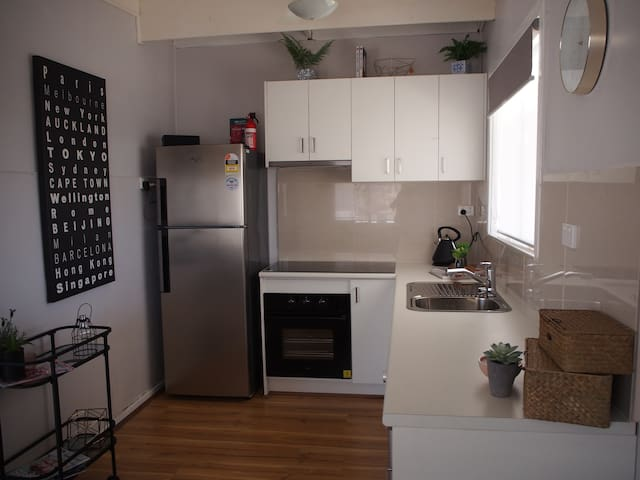 Brand new 2018 kitchen with plenty of storage and all new appliances and accessories