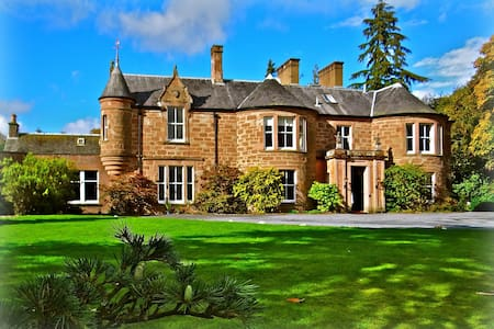 MANNOR HOUSE = 16 beds, for Weddings / Groups - Blairgowrie and Rattray - 独立屋