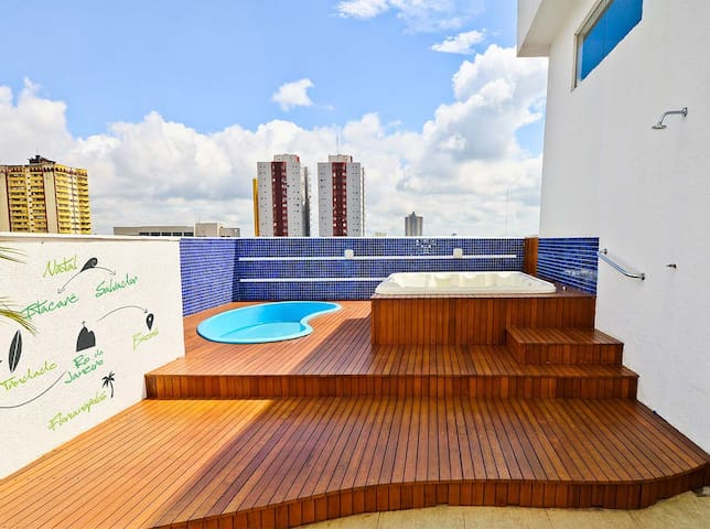 Central suite for 2 people at Foz do Iguazu! - Foz do Iguaçu - Flat