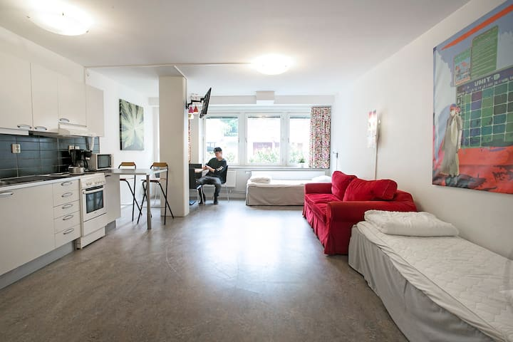 Vakna boende 4-personers lägenhet