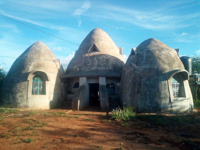 Breathtaking doom shaped home Within Tsavo West