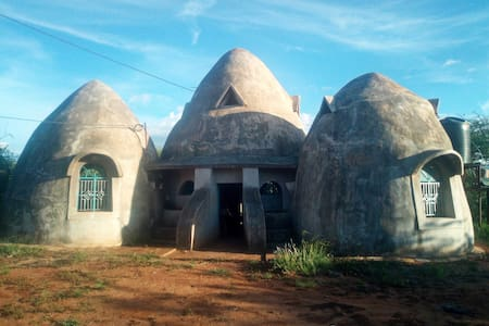 Breathtaking doom shaped home Within Tsavo West