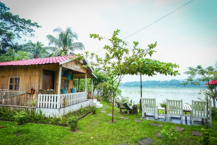 Riverside Eco Cottage at Dhaka