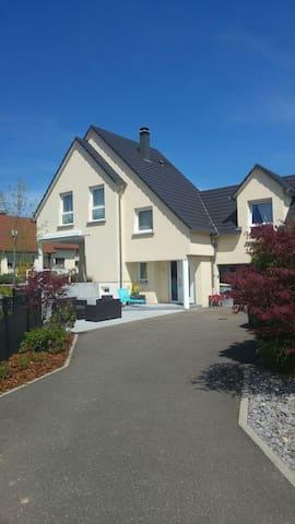 Maison 130m2 à 10mns du centre de Strasbourg - Ittenheim - Hus