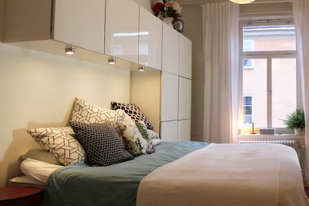 Beautiful two-roomer in trendy part of Stockholm - Stockholm