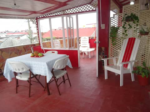 B&B LA TERRAZA YASSEL & ANY (sea views/mountains)