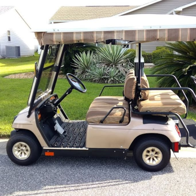 4 Seater Gas Golf Cart