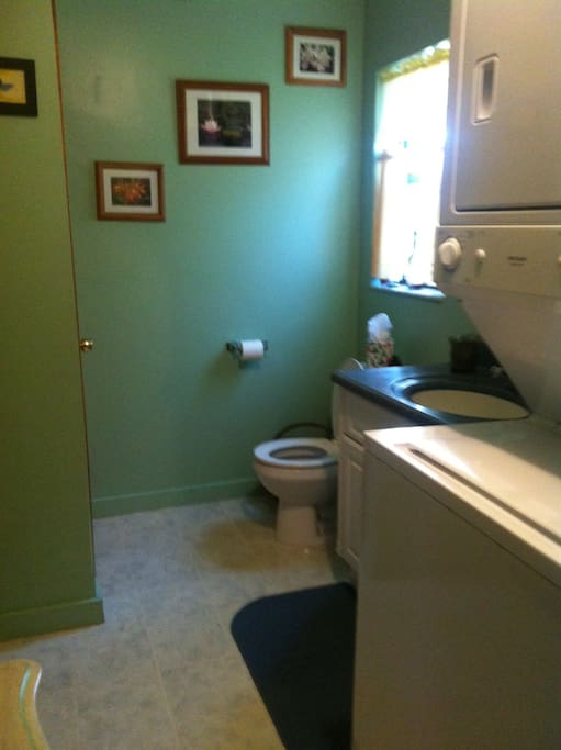 Small but adequate full size washer & dryer
