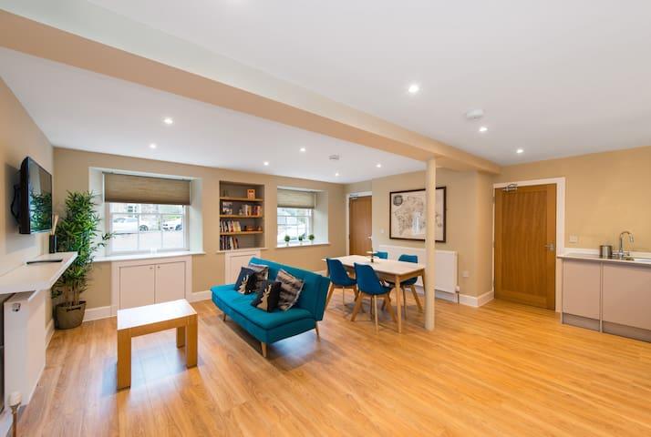 Stunning 1 bedroom flat in Historic East Linton