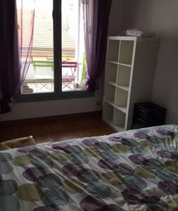 Chambre privée dans colloc' - appartement spacieux - Lyon - Flat