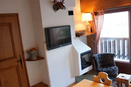 Appartement face au Mont Blanc - 孔布盧(Combloux) - 公寓