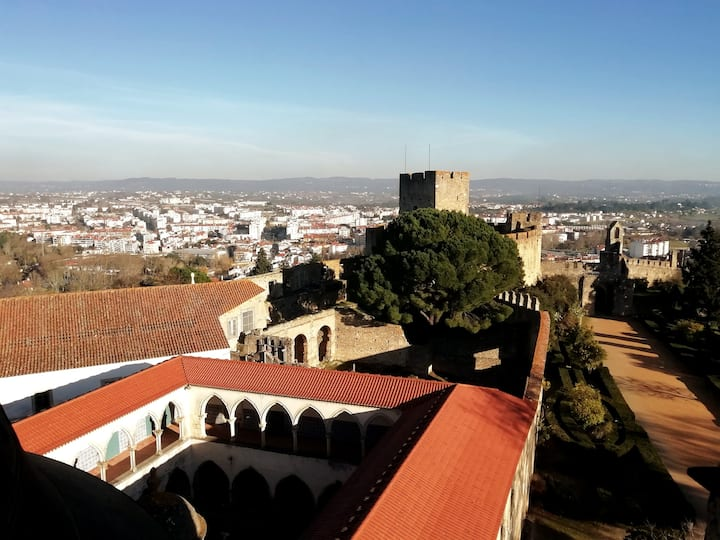 View from the top of the Templar Church