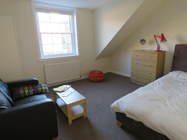 Spacious & bright bedroom close to city centre - Edinburgh - Flat