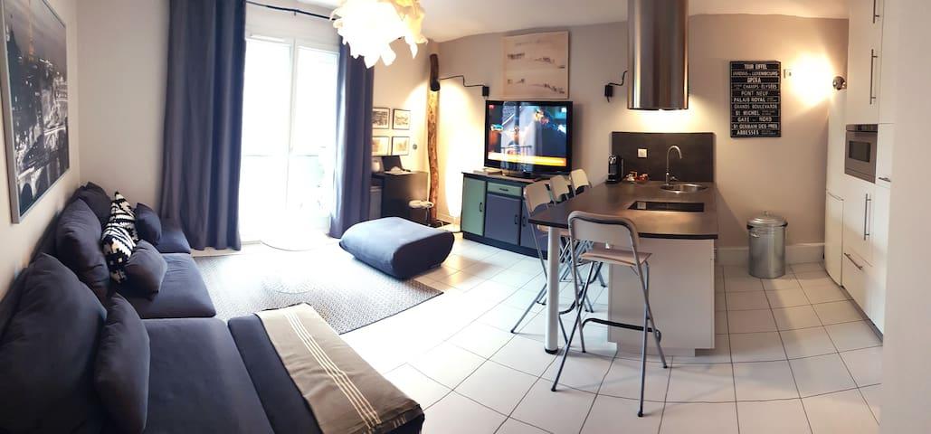 Duplex à Lentilly - entre Lyon et Beaujolais