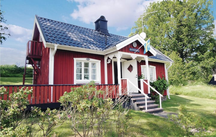 Amazing home in Ljungby with Sauna and 1 Bedrooms