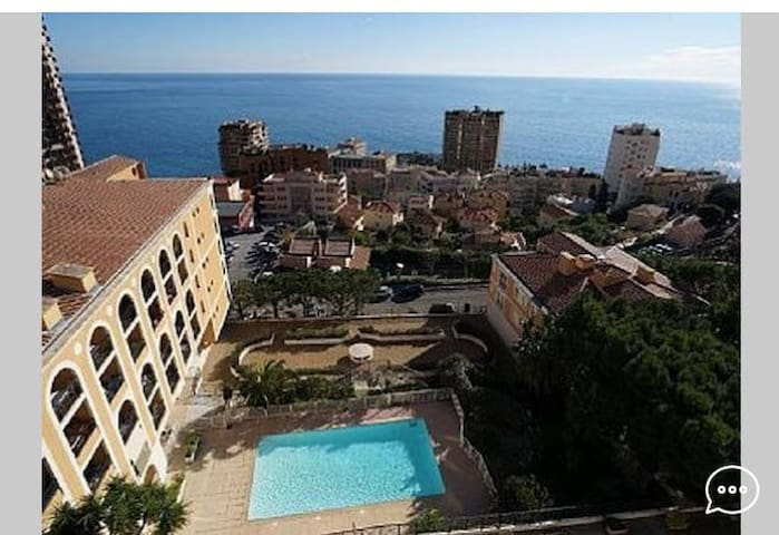 Over Monaco, Sea View&Pool - Beausoleil - Departamento