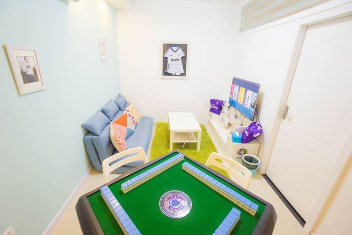 PaPa公寓武汉广场足球主题店 - Wuhan - Apartamento com serviços incluídos