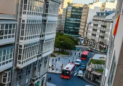 Rubine, zona centro de A Coruña. 60 m2