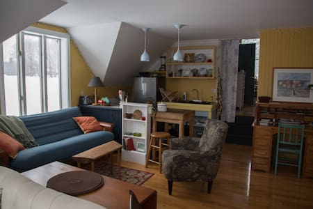 Cozy Hilltop farm apartment - Andover