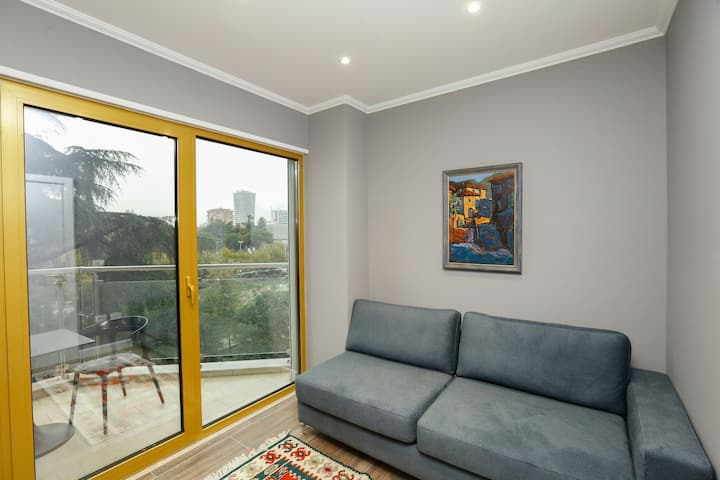 Entire Flat City Center-With great Balcony View
