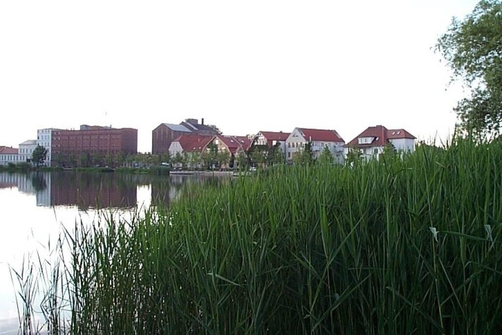 Wahrzeichen von Müllrose - Die Mühle