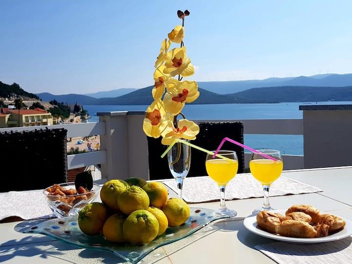 Villa Delija Klek - Luxury apartment with sea view