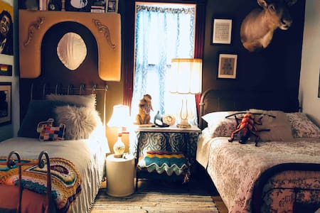 Eclectic Bedroom in Ybor City!