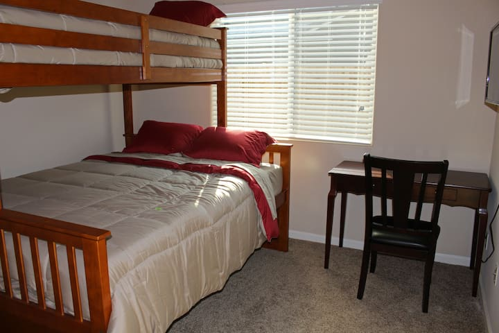 Bunk Bed Room, Shared Bath, Onsite Parking