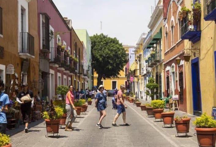Habitación privada en Los Sapos Puebla