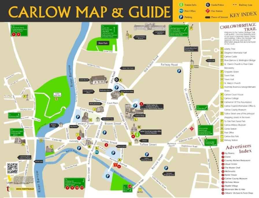 carlow town map1