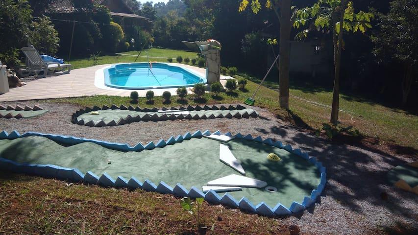 Lazer-Casa Linda Aconchegante-Natureza Exuberante