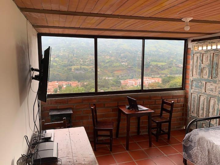 Great view open space cabin in Copacabana