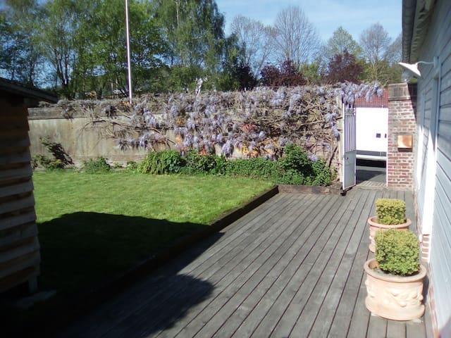 Les petits jardins - La Rivière-Saint-Sauveur - 一軒家