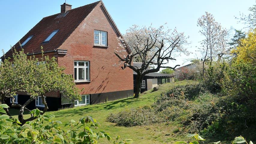 Hus med havudsigt og skøn have - Svaneke - Talo
