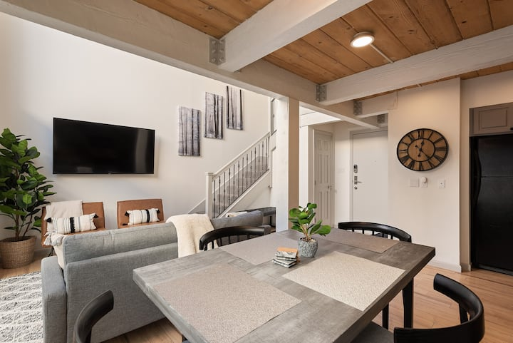HUGE Modern Loft in Downtown Aspen Core - 3br/2ba!