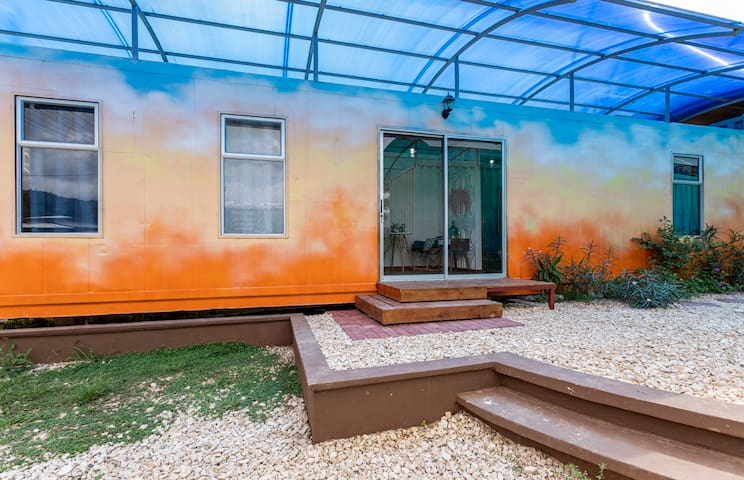 *BRAND NEW* Home Sweet Shipping Container (ORANGE)