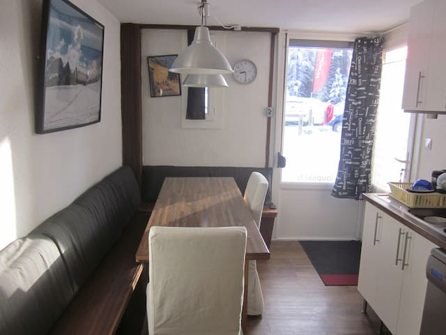 42 sqm at departure of Alpin ski ! - Uvernet-Fours - Apartamento