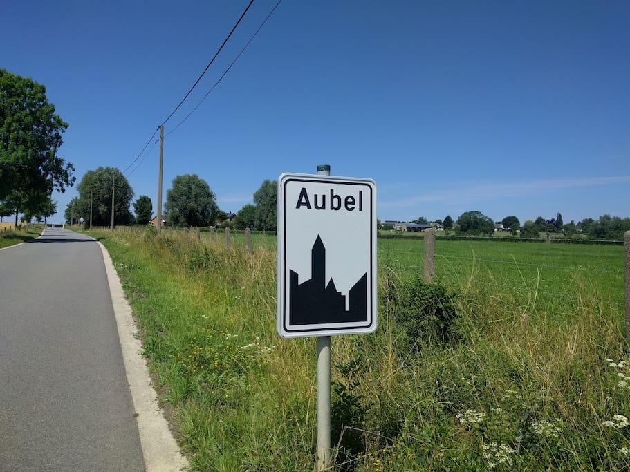 A proximité du centre d'Aubel