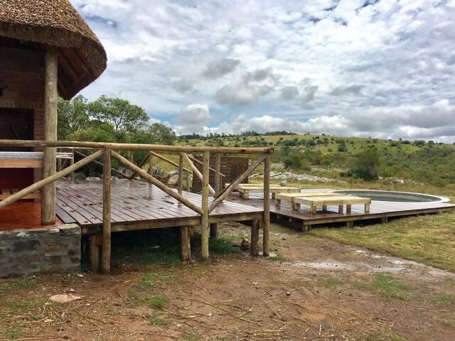 CABAÑA GUAZUBIRÁ - Cabaña Las Cascadas - El Edén