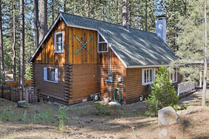 Stylish Vintage Log Cabin in Lake Tahoe