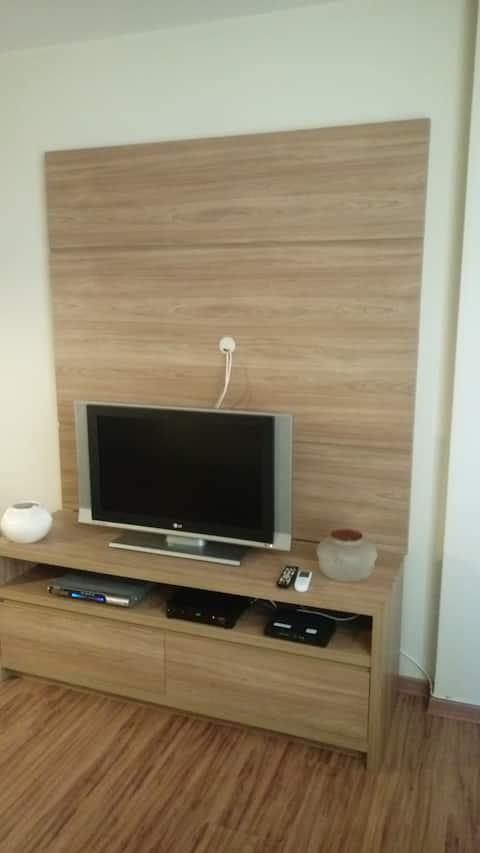 Lindo apartamento em Santos proximo a praia