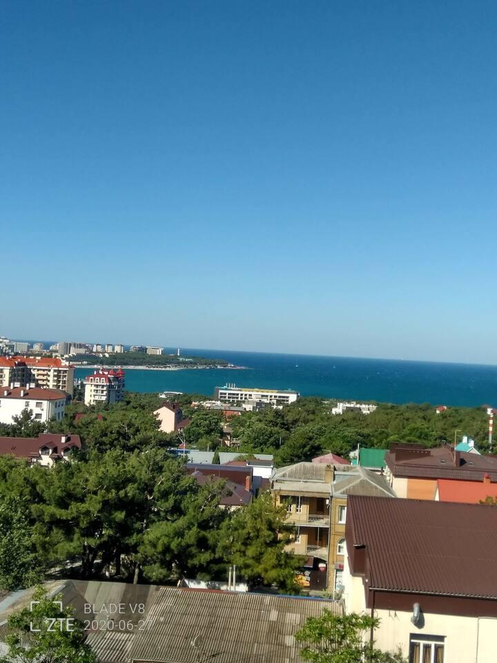 Квартира с великолепным видом на море